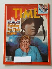 Time Magazine July 13 1981 Viet Nam Vets - Fighting For Their Rights - English