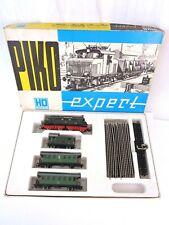 More details for piko expert locomotive ho gauge electric e44 131 dr coach set rare