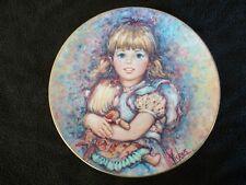 "1978 Mary Vickers ""Cherish"" Wedgwood Bone China Plate w/Coa & Box # 912 D"