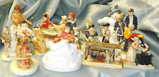 Total of 15 Vintage Sebastian Figurines Miniatures