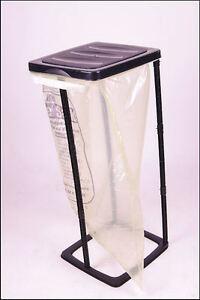 Müllsackständer 60 Liter # Ideal für gelbe Säcke # Müllständer Abfallsammler