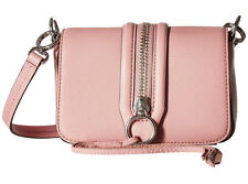 NWT Rebecca Minkoff Guava Pebbled Leather Mini Mara Crossbody