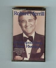 ROBERT MERRILL - WHIFFENPOOF SONG AND OTHER FAVORITES - CASSETTE - NEW