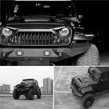 MATTE BLACK ANGRY BIRD GLADIATOR GRILLE FOR JEEP WRANGLER JK 07-17 UNLIMITED