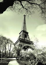 Paris City Eiffel Tower Poster   A2 SIZE