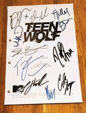Copione Episodio Pilota Teen Wolf con repliche autografi Stilinski McCall Hale