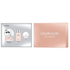 CALVIN KLEIN WOMAN 50ML EDP + LAIT POUR CORPS 100ML + MINIATURE 5ML