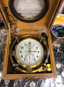 Ussr Aircraft Kirova chronometer 13-20 CHP-M Kirowa, Soviet Russia