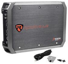 Rockville RXD-M1 2000 Watt/1000w Rms Mono Clase D Amplificador Car Audio Amp 1 Ohm