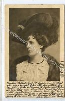 (KLe5491-100) Actress, Miss Evelyn Millard 1905  Used G-VG Undivided Back