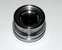 Schneider-Kreuznach Xenon 1.9/40 mm lens M25 mount for Robot cameras 15 blades