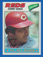 1977 Topps #70 Johnny Bench Cincinnati Reds HOF NM-MT+