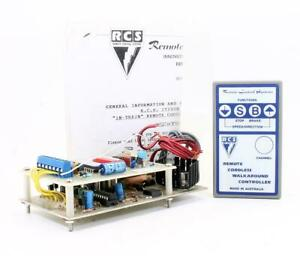 REMOTE CONTROL SYSTEMS 'G' GAUGE RADIO BATTERY CONTROLLER WITH INSTRUCTIONS