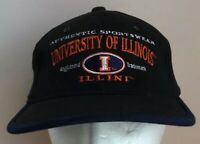 Illinois Fighting Illini Adjustable Strapback Cap Hat NCAA