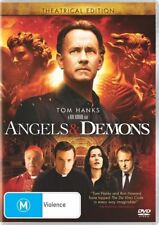 ANGELS AND DEMONS : 2009 DVD= TOM HANKS = PAL 4 = SEALED = FREE POST
