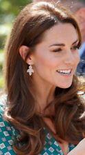 POLLY PETAL DROP EARRINGS ASO Duchess of Cambridge Kate Middleton Accessorize