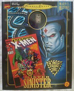 "X-MEN MARVEL MILESTONES MR. SINISTER MARVEL FAMOUS COVER SERIES 8"" ACTION FIGURE"