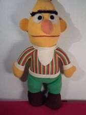 "1972 Knickerbocker 15"" Bert Plush Stuffed Doll Toy Sesame Street Muppets"