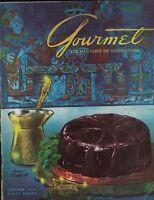 Gourmet Magazine October 1954 Henry J Stanlhut Gastronomic Tour of Rome Italy