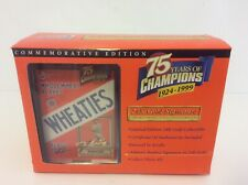 Wheaties Lou Gehrig 75th Collectibles 24K Gold Signature Mini Box 1999