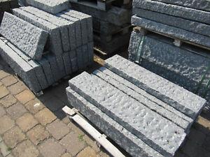 Leistensteine, Bordstein, Granit PADANG DARK