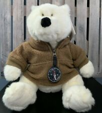 Vintage Gund 1998 Land's End Polar Bear Robert E. Beary Compass Jacket Plush