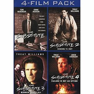 The Substitute 4-Film Pack (The Substitute / The Substitute 2: School's Out /