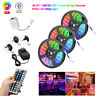 49FT Strip Light Flexible 3528 RGB LED SMD Fairy Lights Remote Room TV Party Bar