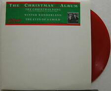 """AIR SUPPLY The Christmas Song 1987 US Promo Only RED VINYL 12"""" Single MINTY!"""