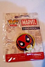 NEW POP PINS MARVEL DEADPOOL FUNKO COLLECTIBLE PIN BACK