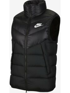Nike NSW Windrunner Down Fill Puffer Gilet Size XS