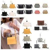 Fashion Shoulder Bag Handbag Tote PU Leather Women's Messenger Cross-body Purse