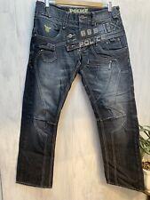 BNWT W34 L34 883 Police Mens Moriarty Jeans Grey