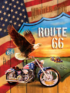 MOTHER ROAD by GREG GIORDANO - SunsOut 500 piece puzzle ROUTE 66 - NEW