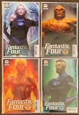 Fantastic Four #1 A B C D Marvel Comics Artgerm Variants Dan Slott lot Set Nm