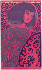 Young Rascals THE DOORS Fillmore West postcard (Jan 6th-7th 1967) 1st Doors