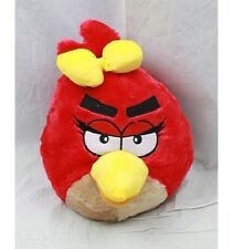 """Angry Birds RED Girl PLUSH BACKPACK 14"""" For Kids BRAND NEW - Licensed Product"""
