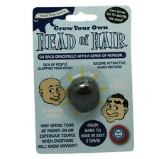 Grow Your Own Head Of Hair Fun Funny Novelty Joke Prank Party Secret Santa Gift