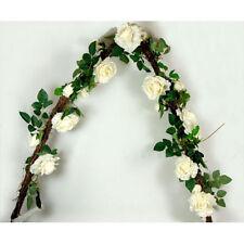 Guirlande de roses blanches (155 cm)