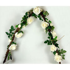Garland of White Roses (155 cm)