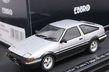 Ebbro 1:43 Toyota Sprinter Trueno AE86 1983 Die Cast Model Sport Cars (Silver)
