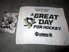 Pittsburgh Penguins 2012 Playoff RALLY TOWEL game 5 Flyers Program Sidney Crosby