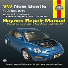 New Volkswagen VW New Beetle 1.8 & 2.0L Gas (98-10) & 1.9L TDI Diesel (98-04) Ha