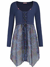 Joe Browns BLUE Caroline's Favorite Cover-Up Tunic - Plus Size 12 to 32 RRP £40