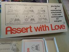 Rare -ASSERT WITH LOVE  board game- 1981 High Consciousnes Games