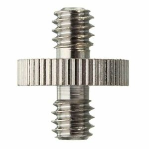 1/4'' Male to 1/4'' Male Threaded Camera Screw Adapter For Tripod Mount Holder P