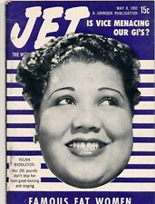 Jet Magazine May 8 1952 Famous Fat Women Velma Middleton Vice Hurting our GIs?