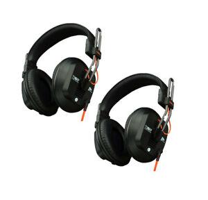 Fostex T50-RP MK3 Hi-Fidelity Pro Headphones - Detachable/Lock Cable - 2 Pack