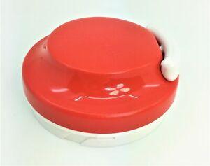 Tupperware Deckel für Turbo Chef rot Zerkleinerer Zwiebelschneider NEU