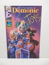 Demonic Toys #1 Full Moon Eternity Comic Book Jeff Remmer Killer Clown Baby Cvr.